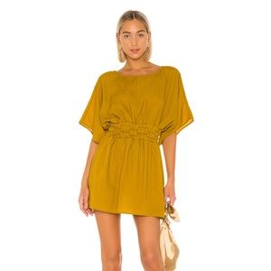 NEW Tularosa Sienna Dress Yellow Small E11
